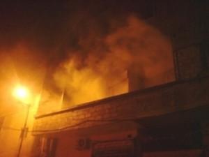 وفاة شخصين اثر حريق منزل في محافظة اربد