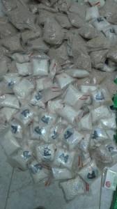 بالصور .. المخدرات والأمن العسكري يضبطون 446 ألف حبة مخدرة شمال المملكة
