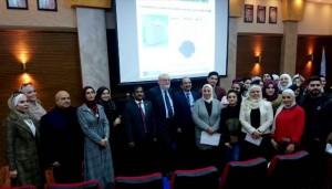 ورشتي عمل لعمادة البحث العلمي بجامعة عمان الاهلية بمشاركة خبيرين بريطانيين
