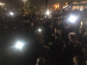 الامن يناشد المتظاهرين بعدم الخروج إلى الشارع