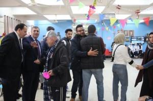 طلبة حقوق البترا يزورون دار المسنين