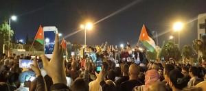 إصابة 10 رجال أمن بينهم شرطية بسبب التدافع ..