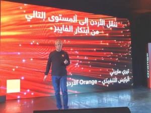 60 مليون دينار استثمار Orange الاردن في شبكة الفايبر