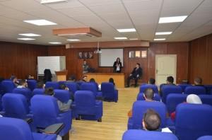 ورشة عمل لطلبة قسم التسويق في جامعة عمان الأهلية