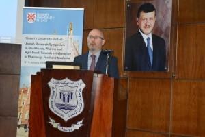الملتقى البحثي الأول لجامعة كوينز- بلفاست - البريطانية مع الجامعات الاردنية  في جامعة عمان الأهلية