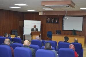 محاضرة في جامعة عمان الاهلية بعنوان