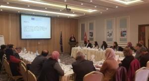 جامعة عمان الاهلية تشارك في جلسة حوار لمشروع HOPES تحت عنوان :التعليم العالي والأزمة السورية