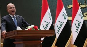 الرئيس العراقي: ترامب لم يطلب إذنا من أجل