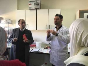 طلبة الكيمياء بجامعة البترا ينظمون زيارة علمية إلى الجمعية العملية الملكية