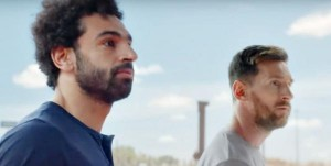 كيف صوّر صلاح وميسي إعلانهما الأخير دون أن يلتقيا؟