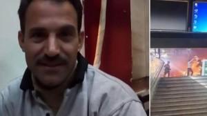 تعرف على المصري الذي أنقذ 10 أسخاص بحادث القطار .. يعمل في كشك على رصيف المحطة منذ 17 عام ..