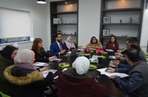 الاجتماع التعريفي الاول لمجلس حاضنة أعمال جامعة عمان الاهلية