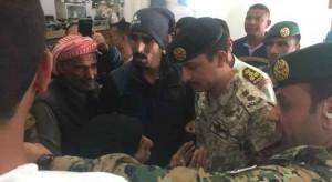 بالفيديو والصور .. ولي العهد في زيارة مفاجئة لمستشفى الأمير هاشم العسكري