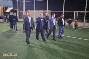 وزير الثقافه والشباب يرعى مهرجان نادي زحر الثقافي الاول
