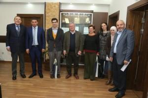 أساتذة أوروبيون يحاضرون في جامعة البترا ضمن برامج التبادل الأكاديمي