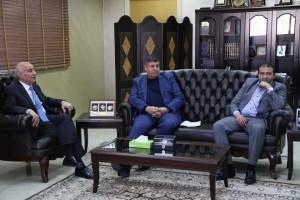 رئيس لجنة فلسطين النيابية يثمن دور جامعة العلوم الإسلامية العالمية