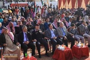ابو رمان يرعى حفل افتتاح ذيبان مدينة الثقافه الاردنيه