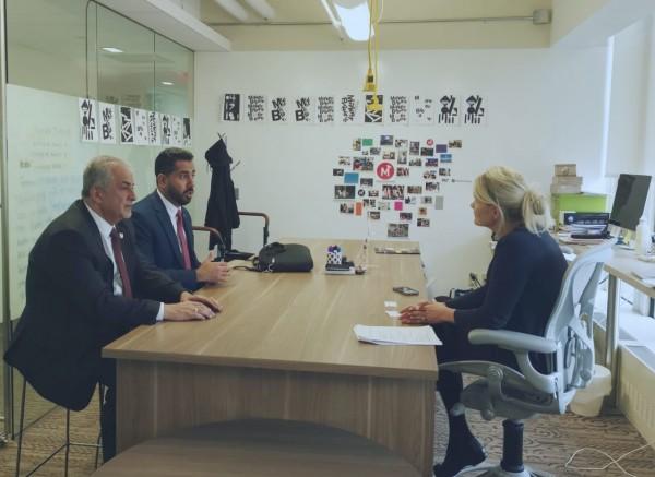 جامعة عمان الأهلية تبحث سبل التعاون مع جامعة MIT الأميركية