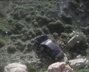 وفاة شخص وإصابة اثنين آخرين اثر حادث تدهور في محافظة الكرك