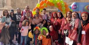فعالية مبادرة حرير الريادية للتنمية والتوعية المجتمعية # حرير المدرج الروماني