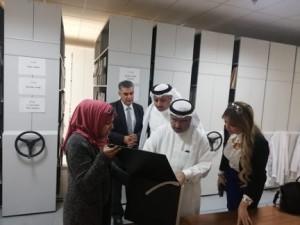 العياصرة يستقبل وفداً من وزارة شؤون الاعلام البحرينية