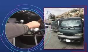 بالفيديو ...ضبط مدخن ارجيلة اثناء القيادة ..والامن يثمن تعاون المواطنين