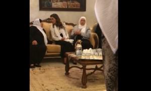 بالفيديو...جلالة الملكة رانيا في بيت عزاء العربيات
