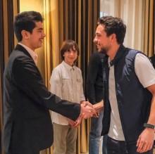سمو ولي العهد الأمير الحسين يلتقي الطلبة المتأهلين في مسابقة إنتل العالمية
