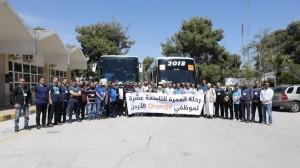 Orangeالأردن تستقبل موظفيها المعتمرين العائدين من الأراضي المقدسة
