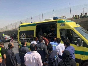 مصر .. 16 اصابة على الاقل بتفجير استهدف حافلة سياحية