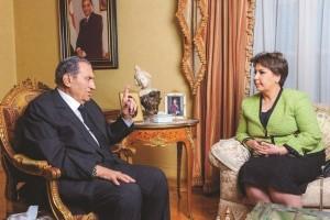 مبارك: اسرائيل طلبت جزءا من سيناء للفلسطينيين واجبت