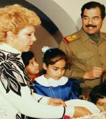 رغد صدام حسين تنفي وفاة والدتها