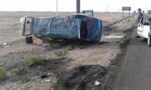 وفاتان و3 اصابات بتدهور مركبة في الصحراوي
