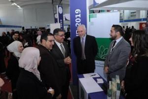 بنك القاهرة عمان يدعم الايام الوظفية في جامعات اردنية