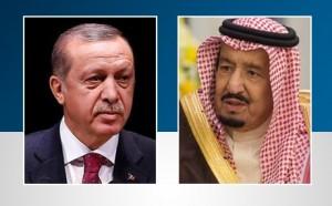 الملك سلمان وأردوغان يبحثان العلاقات الثنائية وقضايا إقليمية