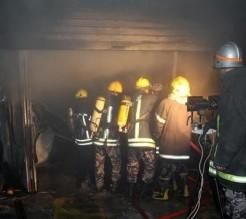حريق يقطع الكهرباء عن مناطق في صويلح بالعاصمة عمّان