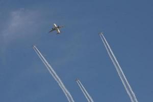 طائرة للملكية الأردنية تجوب سماء الأردن احتفاءً بعيد الجلوس الملكي