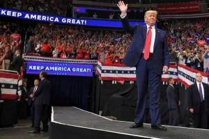 ترامب يطلق رسمياً حملته الانتخابية لولاية رئاسية ثانية