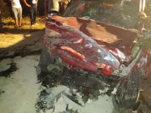 بالصور..وفاة شخص واصابة 6 آخرين اثر حادث تصادم في اربد