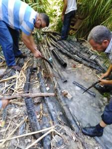 بالفيديو والصور... ضبط (25) اعتداء على مصادر المياه في الاغوار الشمالية