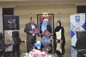 اتفاقية تعاون مشترك بين جامعة عمان الأهلية وشركة الإبداع للتنمية البشرية