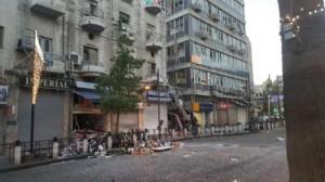 لجنة للتحقق من سلامة المباني المتضررة من حادث المطعم في وسط البلد