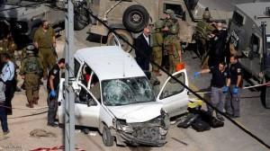إصابة جنود إسرائيليين في عملية دهس شمال القدس .. ومقتل المنفذ بعيار ناري