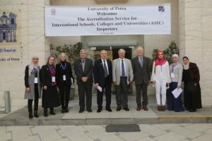 جامعة البترا تعزز إنجازاتها بحصولها على شهادة الاعتماد البريطاني ASIC على مستوى الجامعة