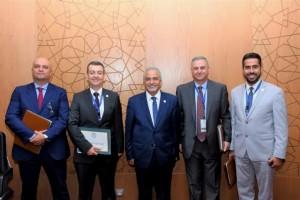 جامعة عمان الأهلية تختتم مشاركتها في الملتقى العربي للقيادات الجامعية