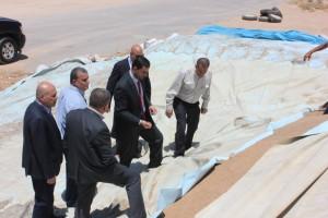 الوزير الحموري : تخزين القمح بمستوعبات الغباوي لا يحتاج للتعقيم