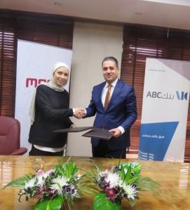 بنك ABC الأردن والشرق الأوسط لخدمات الدفع(MEPS) يوقعان اتفاقية تعاون مشترك