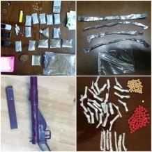 بالصور..القبض على ٩٥ شخصا من متعاطي ومروجي المخدرات في عدد من مناطق المملكة