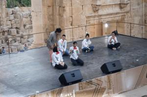 مسرحية حصة رسم على مسرح ارتيمس