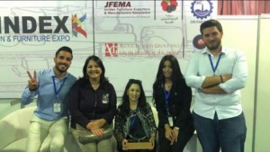 طلبة جامعة البترا يفوزون بالمركز الأول بمسابقة التصميم الداخلي بالمعرض الدولي للديكور والأثاث